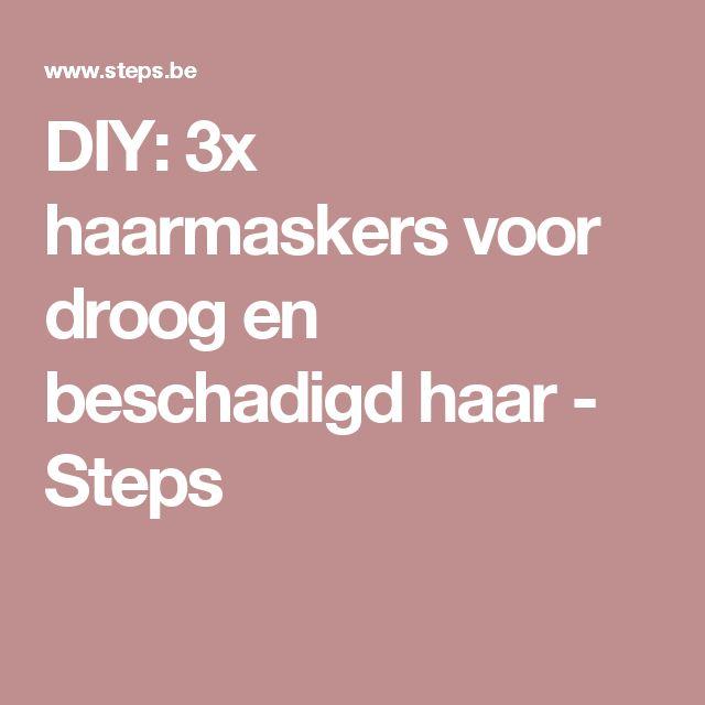 DIY: 3x haarmaskers voor droog en beschadigd haar - Steps