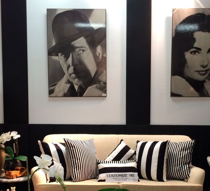 New Black & White stripe cushions available for purchase  at Woolloongabba Antique Centre shop 23. Lumber $29 Scatter $39