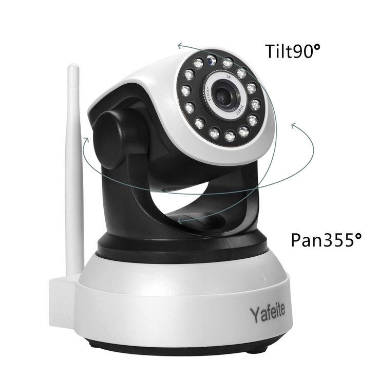 Yafeite 720P HD Wireless Network Monitoring IP Camera baby/child/pet/nanny monitor Pan/Tilt,Two-Way Audio and Night Vision Home WiFi Surveillance Camera(IP1)