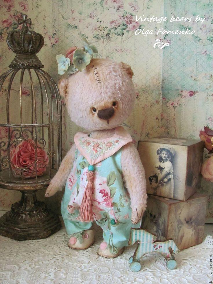 Купить Мишка Незабудкин ...Привет лето)) - мишка, тедди, коллекционный мишка…