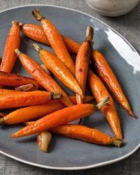 Roasted Carrots. Very easy recipe. No chopping involved!
