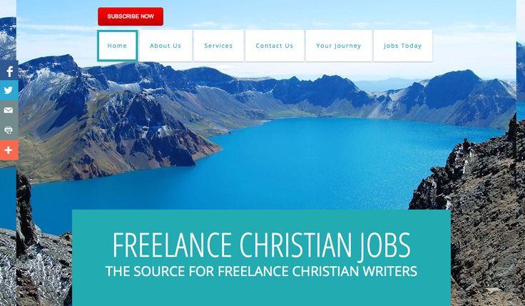 Christian freelance writing jobs