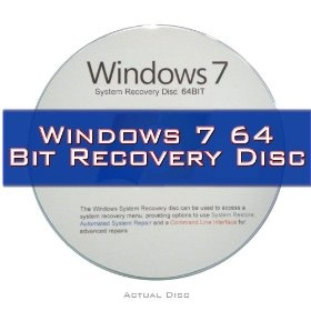 Windows 7 System Recovery disk Live Boot CD 64 bit DVD (disc is comparable with Home Premium, Professional and Ultimate).  Sale Price: $4.79  More Detail: http://www.giftsidea.us/item.php?id=b004rdceqo