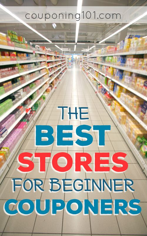 Find out the best stores for beginner couponers!