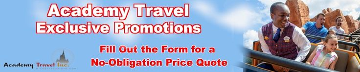Our team is always on the look out for great Disney deals. Click HERE to fill out Click HERE to fill out this simple form to receive your no-obligation vacation quote!