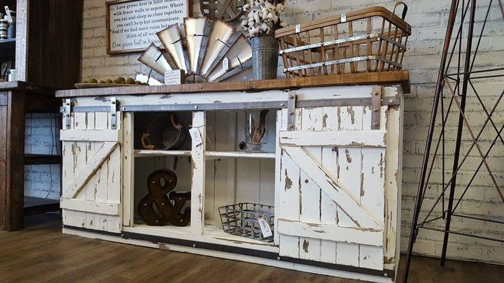 Ana White | K&S Barn Door Console - DIY Projects