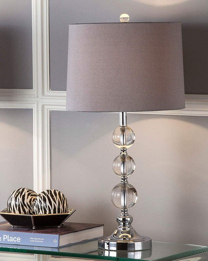 Safavieh Keeva Stacked Crystal Ball Table Lamps Set Of 2 Master Bedroom Redo Apartment Lighting Lamp