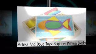 Melissa & Doug Toys: Beginner Pattern Blocks - YouTube