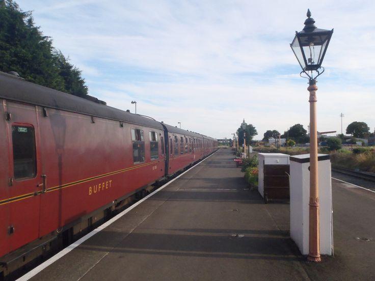 Kidderminster diesel or steam train dining