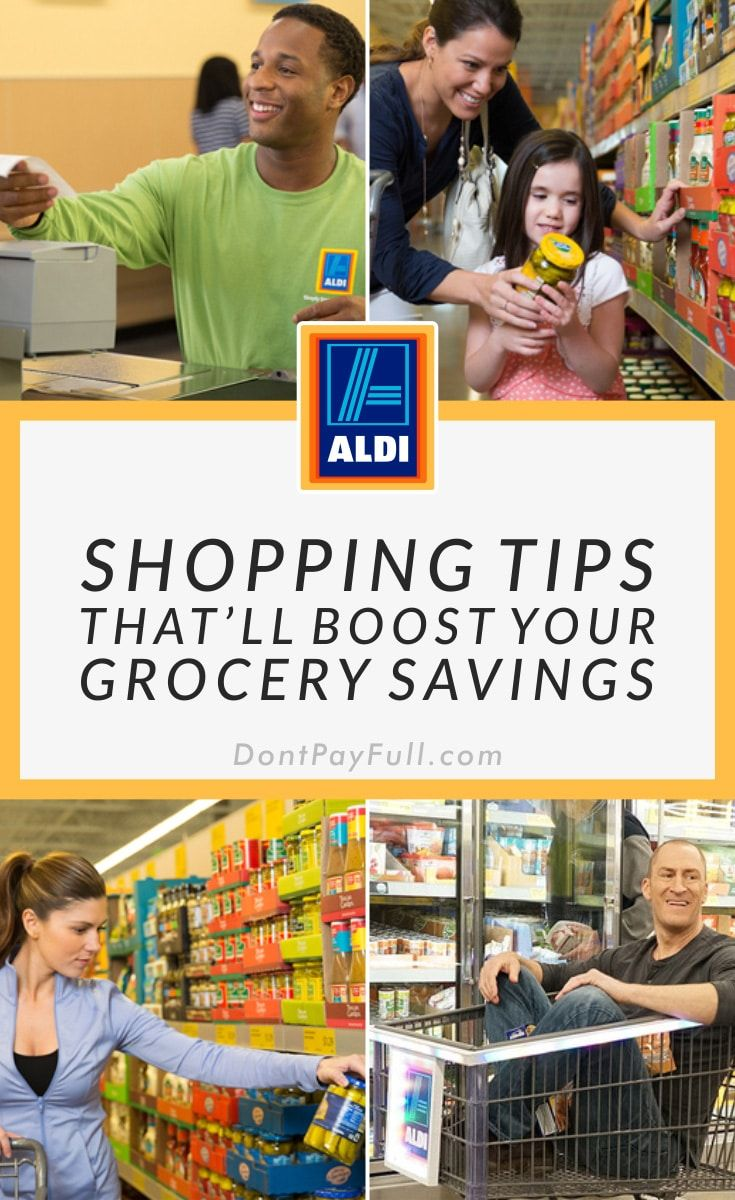 10 Shopping Tips That Ll Boost Your Grocery Savings At Aldi Shopping Hacks Grocery Savings Aldi Shopping