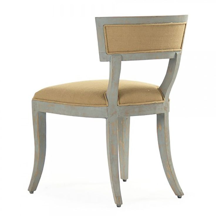 Zentique Ayer Side Chair - Tan Birch & Linen | Dining Chairs & Benches | Dining Room | Furniture | Candelabra, Inc.