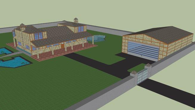 woodland house - 3D Warehouse