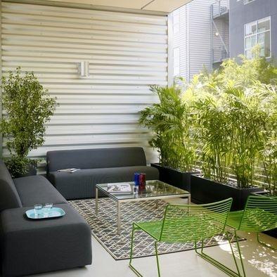 patio privacy screen plants design pictures remodel decor and ideas - Patio Privacy Ideas