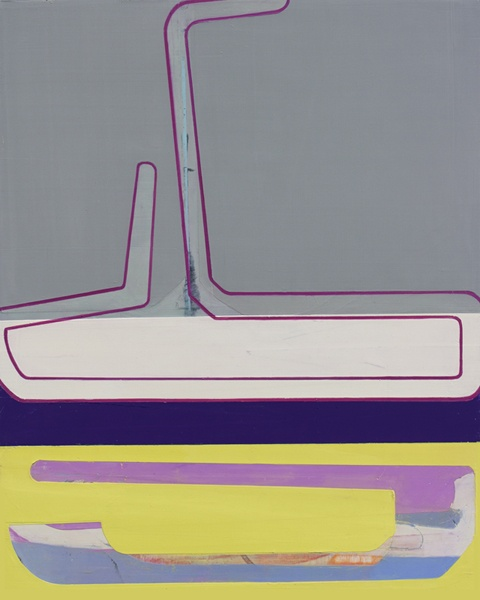 Up Periscope; 2013; oil on panel; 20 inches by 16 inches