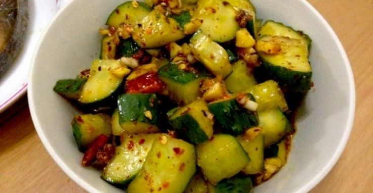 Chinese Cucumber Salad Whether to enter into a delicious menu, in ...