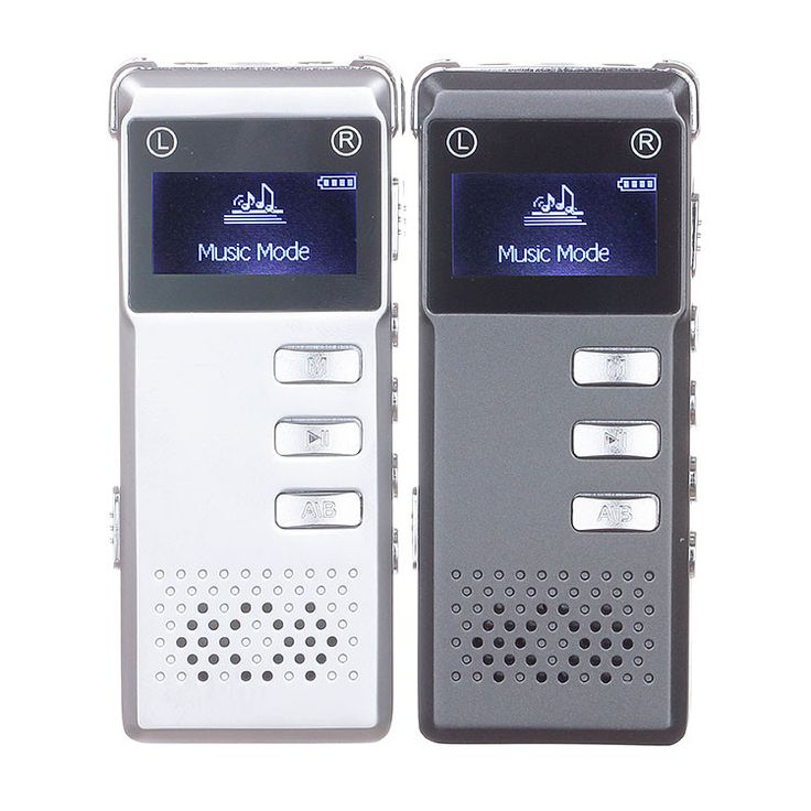 Portable 8GB Digital Audio Stereo Recording with MP3 Player