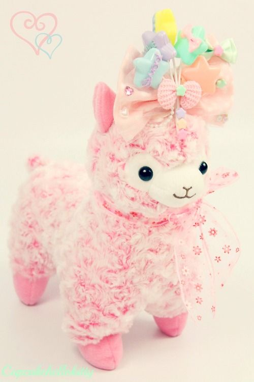 Aww~ kawaii alpaca