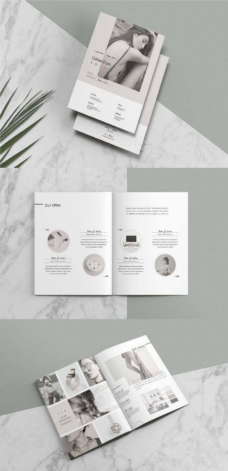 Catalog is a printable template ( not a mockup ) perfect