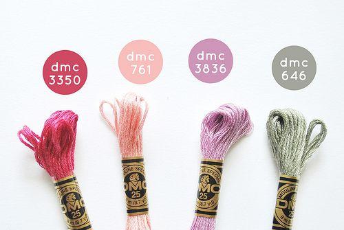 DMC color combos