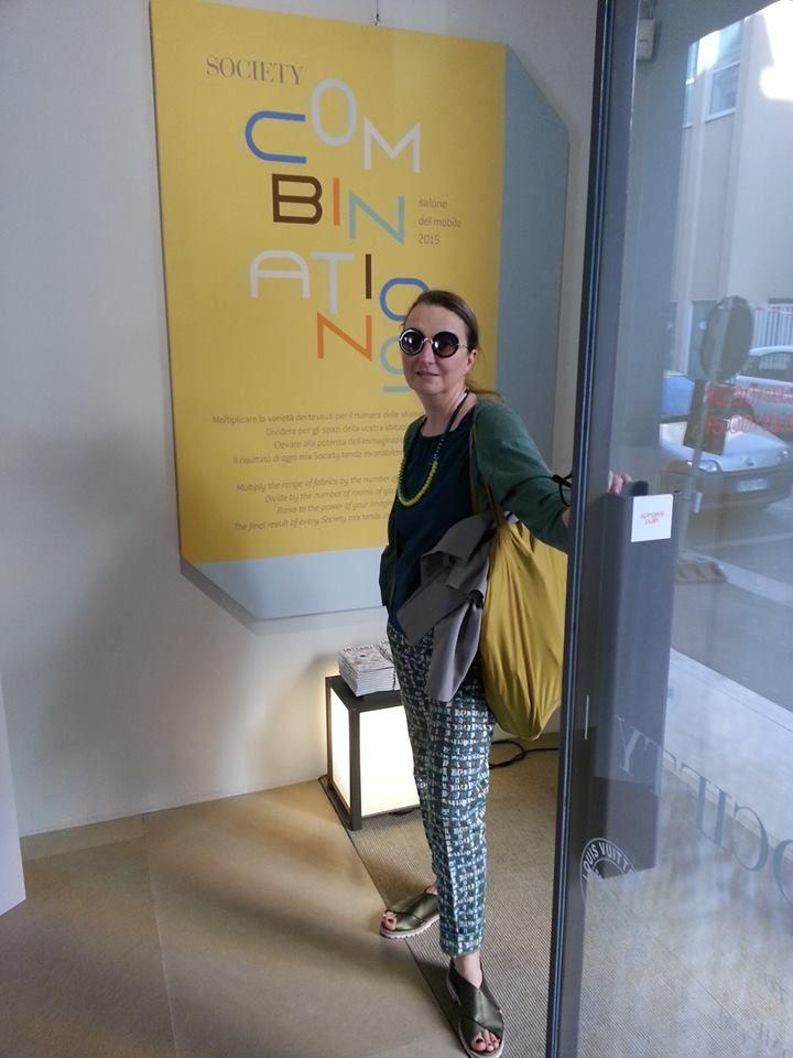 #societylimonta #milandesignweek2015 #breradesigndistrict #beatricerossetti #stylist #alwaysverychic #weloveher