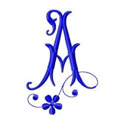 Free Embroidery Design Monogram