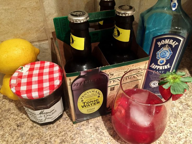 Bombay Sapphire East: Gin & Jam Cocktail