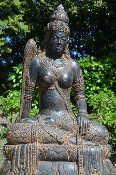 Tuinbeeld Dewi Sri Rijstgodin 100 cm