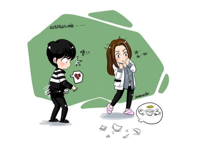 Do Min Joon and Cheon Song Yi | Man From The Stars | fanart