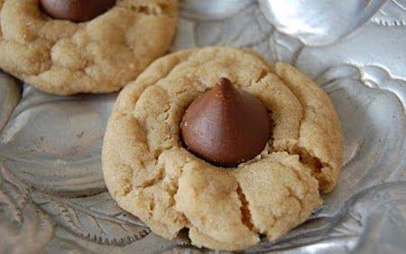 Deliciosas galletas de mantequilla de maní con chocolate