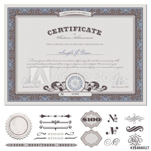 Best Sertifika Images On   Certificate Templates