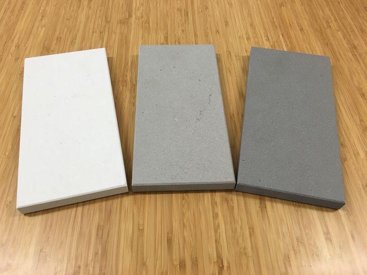 Caesarstones 'New Concrete' Colour Range of Quartz surfaces carry on the…