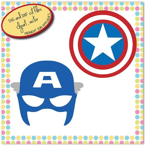 Captain america SVGdxfclipartcaptain america mask svg