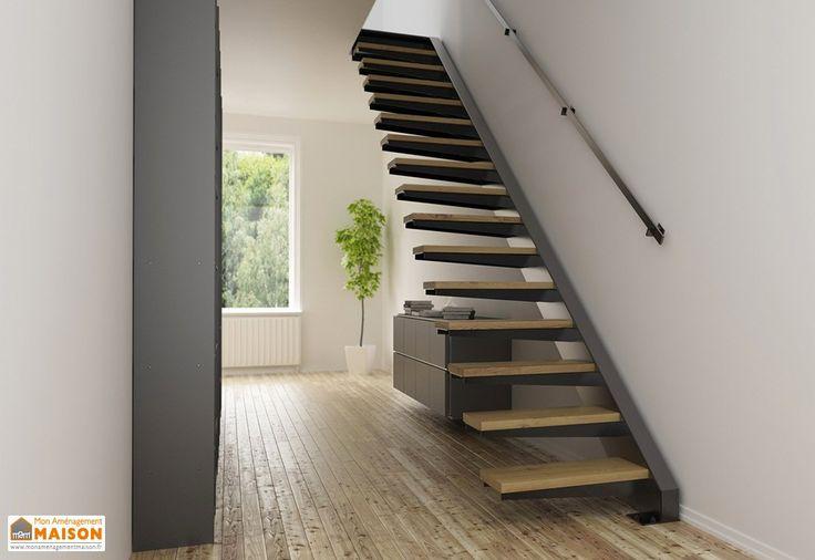 les 25 meilleures id es de la cat gorie limon escalier sur pinterest limon d escalier design. Black Bedroom Furniture Sets. Home Design Ideas