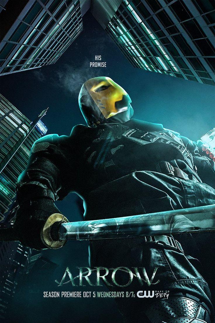 Slade Wilson AKA Deathstroke by Bosslogic #ArrowSeason5 #poster