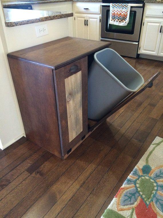 top 25 ideas about trash bins on pinterest hidden trash can kitchen kitchen storage and. Black Bedroom Furniture Sets. Home Design Ideas