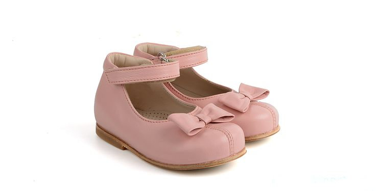 131/Rosa Ballerina in pelle con applicazione.  #galluccishoes #kids #shoes #ballerine #pelle #babygirl #SS16