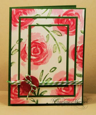 CCEE Stampers: Layered Cards, Cards Design, Cards Ideas, Sympathy Cards, Cards Triple, Cards Get Well, Greeting Cards, Cards Su Rose, Stampin Up Cards