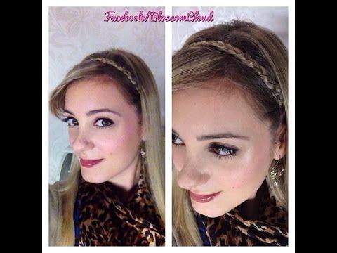 Fascia per capelli a treccia - Braid Headband Tutorial