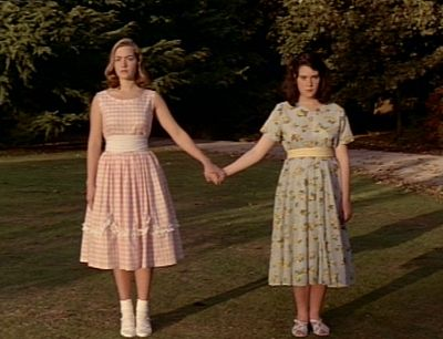 "heavenly creatures. ""I think I'm going crazy."" "" no you're not Gina. It's everyone else who's bonkers."""