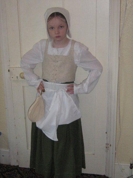 tudor servant costume ren faire costume examples