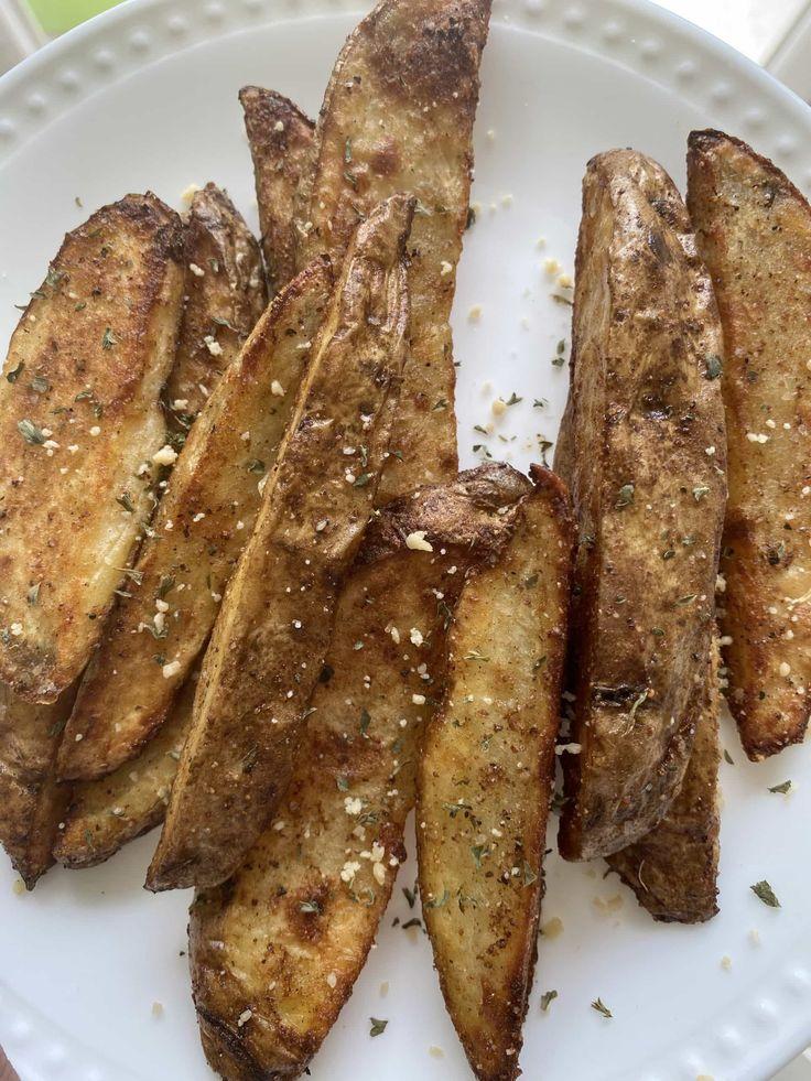 Easy KFC Style Air Fryer Potato Wedges Recipe in 2020