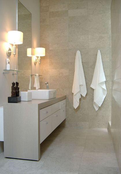 Beautiful modern chic bathroom galveston bay home steve for Bathroom ideas houston