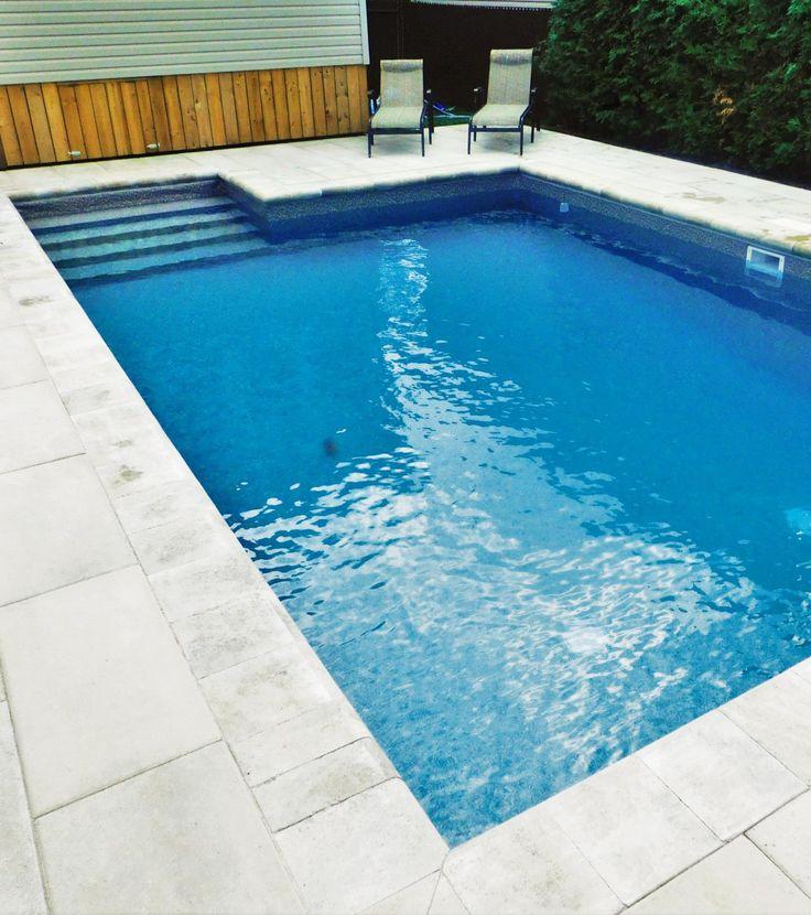 17 meilleures id es propos de piscine creus e sur for Amenagement piscine creusee