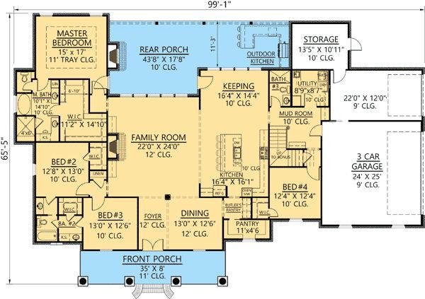 Acadian homes acadian house plans and french country on Acadian floor plans