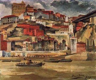 Paisagem do Douro (1936). Dórdio Gomes