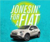 Fiat 500X and a Year Supply of Jones Soda Contest  Open to: United States Canada Other Location Ending on: 11/21/2016 Enter for a chance to win a new Fiat 500x and a year supply of Jones Soda. Enter this Contest at Jones Soda Co.  Enter the Fiat 500X and a Year Supply of Jones Soda Contest on Giveaway Promote.