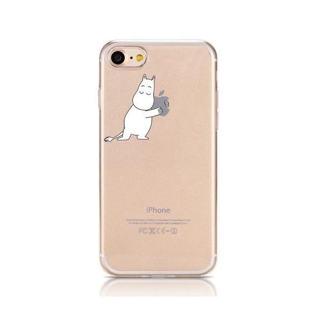 Cute Cartoon Phone Case for iPhone 11 Pro Max 6 6s 7 8 plus X Xr ...