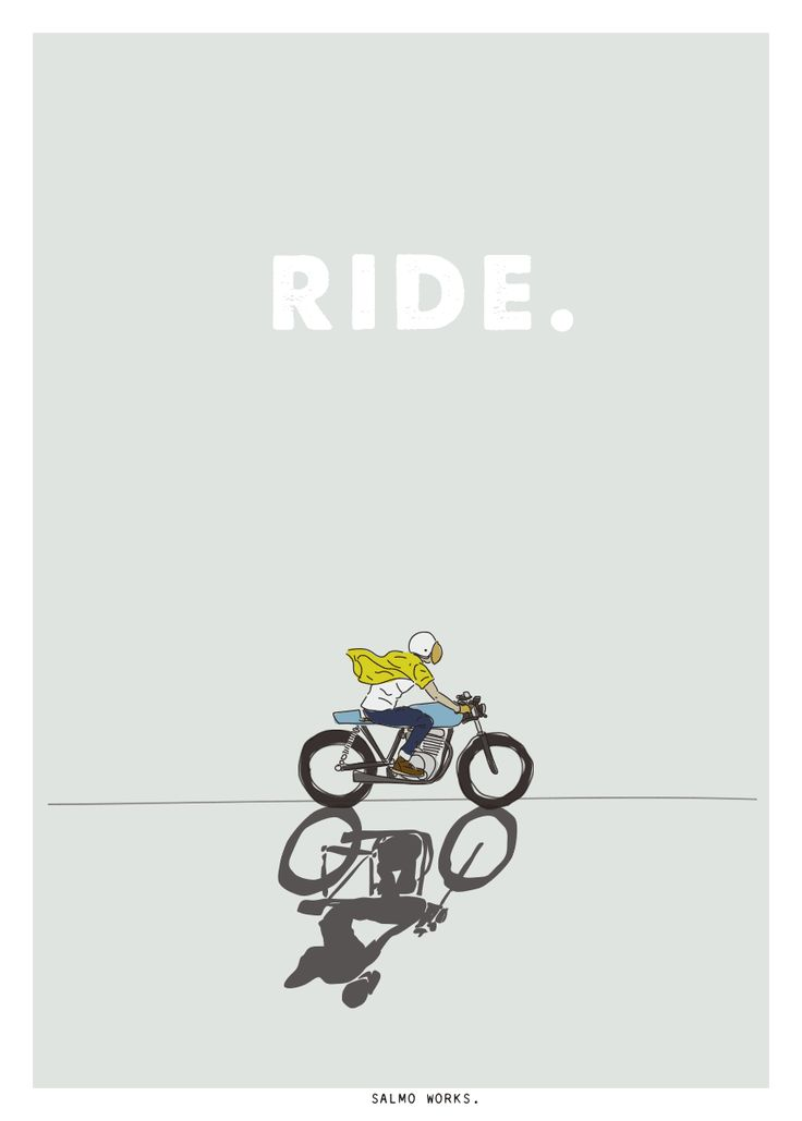 RIDE - Salmo Works #motorcycles #caferacer #motos | caferacerpasion.com