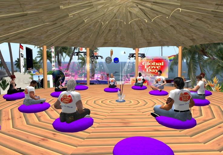 La meditazione si fa su Second Life... ma secondo voi funziona?