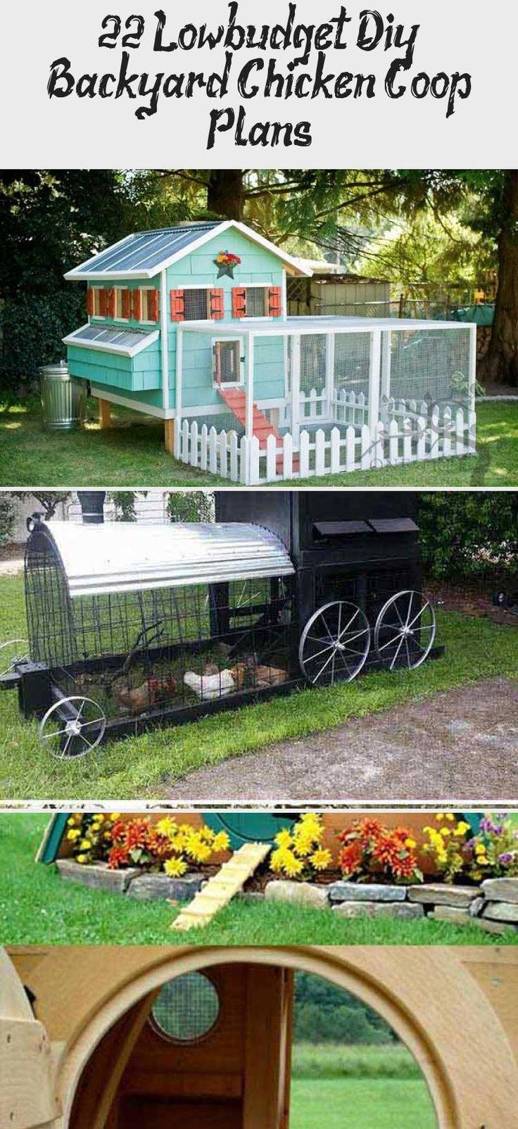 22 Low Budget Diy Backyard Chicken Coop Plans: Backyard Chicken Coop Plans, Chickens Backyard